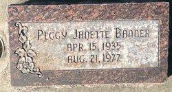 Peggy Janette <I>Banner</I> Larsen