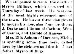 Myron P. Billings