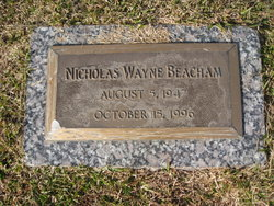 Nicholas Wayne Beacham