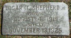 Edgar Thomas Shepherd, Jr