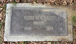 "Ruth Mary ""Peggy"" <I>Gatchell</I> Craig"