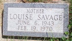 Louise Antez Savage