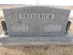 Rose Mary <I>Degand</I> Frederick