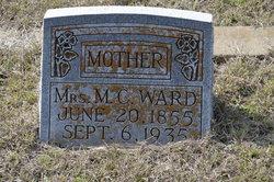 """Mary Catherine """"Mollie"""" <I>Harrell</I> Ward"""