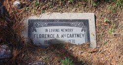 Florence Thankful Ann(a) <I>Shaeffer</I> McCartney
