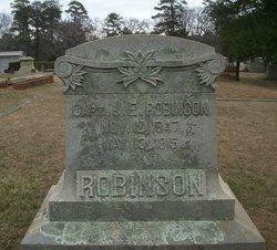 Capt J E Robinson