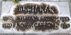 "Honorah ""Nora"" <I>Carroll</I> Buchanan"