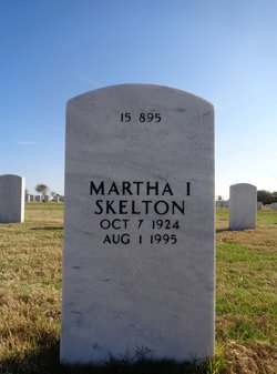 Martha I Skelton