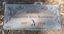 Charlotte Ruth Blanchard