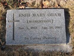 Enid Mary <I>Margetson</I> Oram
