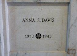 Anna <I>Samuels</I> Davis