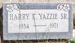 Harry Keith Yazzie, Sr