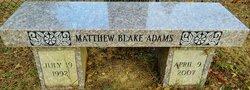 Matthew Blake Adams