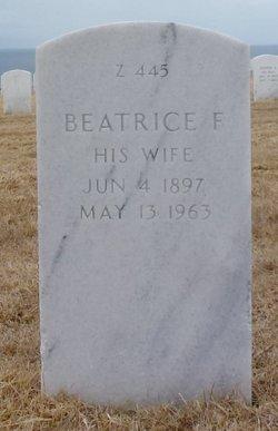 Beatrice F Morgan