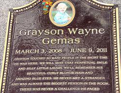 Grayson Wayne Gemas