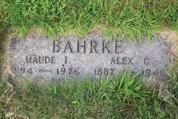 Maude I. Bahrke