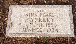 Nina Pearl Hackley