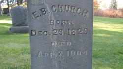 Elias B Church
