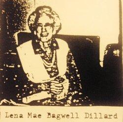 Lena Mae <I>Bagwell</I> Dillard