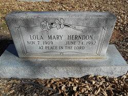 Lola Mary <I>Smith</I> Herndon