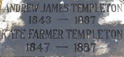 """Catherine Elizabeth """"Kate"""" <I>Farmer</I> Templeton"""
