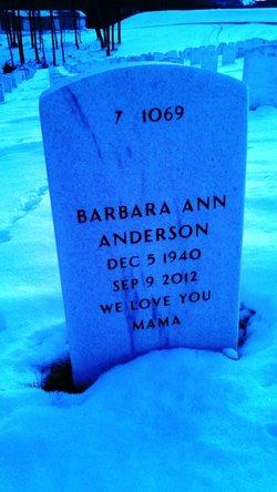 "Barbara Ann ""Bobbie"" <I>Ball</I> Anderson"