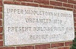 Upper Middletown United Methodist Church Cemetery