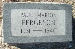 Paul Marion Fergeson