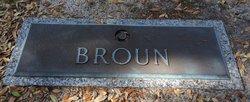 Charles W Broun