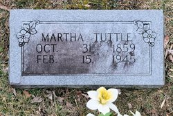 Martha <I>Cheek</I> Tuttle