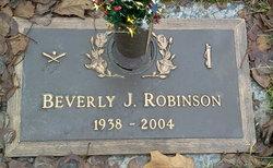 Beverly J. <I>Adler</I> Robinson