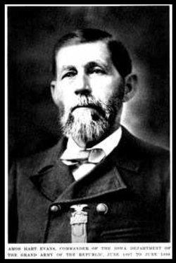 Capt Amos Hart Evans