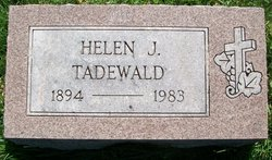 Helen Josephine <I>Callahan</I> Tadewald