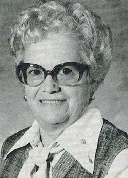 Gladys Mildred <I>Daniel</I> Crow