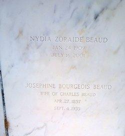 Marie Josephine <I>Bourgeois</I> Beaud