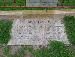 "Johann Jacob ""John"" Weber"