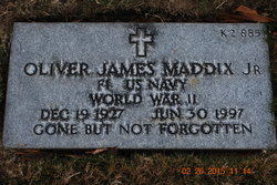 "Oliver James ""Buddy"" Maddix, Jr"