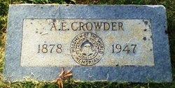 """Alfred Edward """"A.E."""" Crowder"""