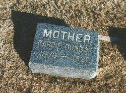 Carrie J <I>Hewitt</I> Dunbar