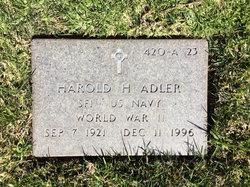 Harold H Adler
