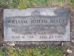 William Joseph Defoe