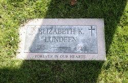 Elizabeth <I>Kelley</I> Lundeen