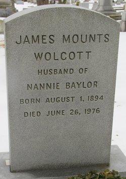 James Mounts Wolcott