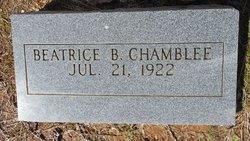 Beatrice B Chamblee
