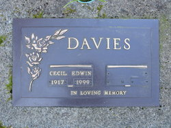 Cecil Edwin Davies