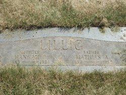 "Johanna C. ""Hannah"" <I>Purcell</I> Lillig"