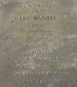 Mary Jane <I>Aiken</I> Martin