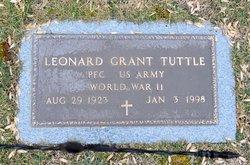 Leonard Grant Tuttle