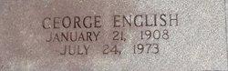 """George C. """"Carl"""" English"""