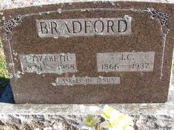 "Elizabeth ""Lizzie"" <I>Parrish</I> Bradford"